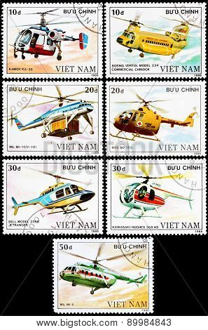 Post Stamps From Vietnam