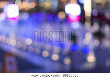 Light Bokeh Blur Background