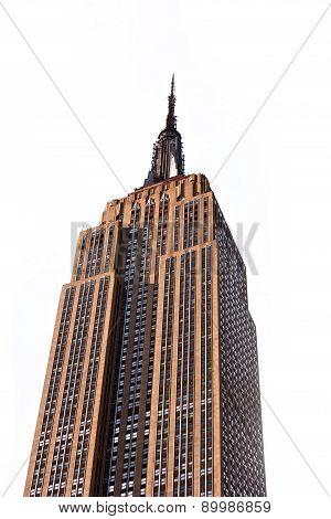Facade Of Empire State Building