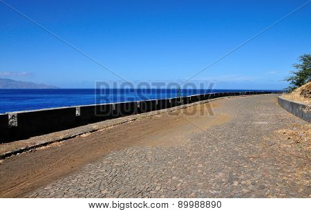 Road With Guard Rail
