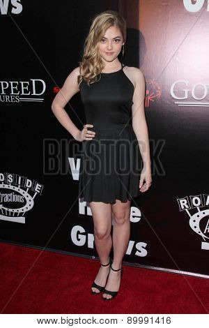 LOS ANGELES - MAY 3:  McKaley Miller at the