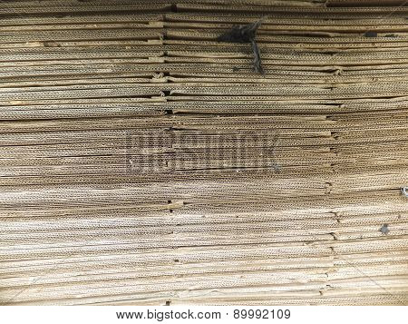Heap Of Waste Paper
