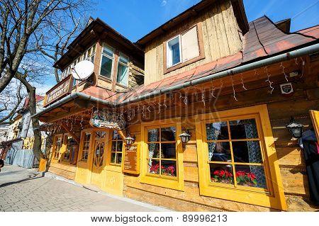 Old Villa Marysin In Zakopane, Poland