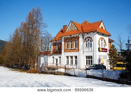 Villa Made Of Brick, Built In 1913 In Zakopane