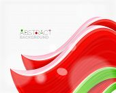 picture of solid  - Abstract realistic solid wave background - JPG