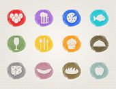 picture of deli  - food deli icons set for restaurant and bar - JPG