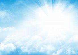 stock photo of blue  - Blue sky - JPG