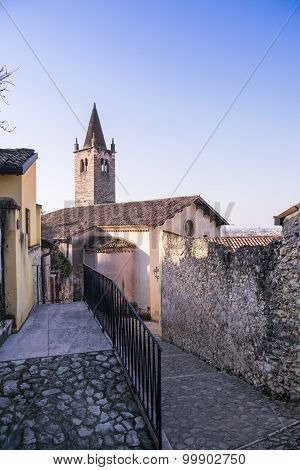 Santa Maria Dei Domenicani Is A 15Th-century, Roman Catholic Church, Located Inside The Scaliger Wal