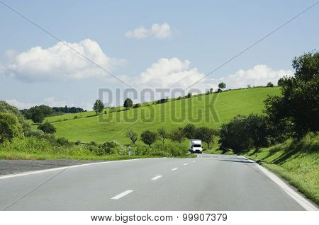 Road In Nature Landscape