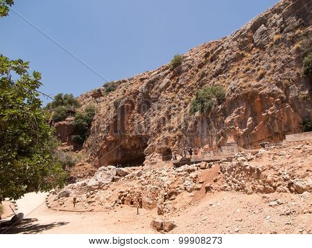 Architectural Antiquities In Natural Reservation Of Hermon River (banyas)