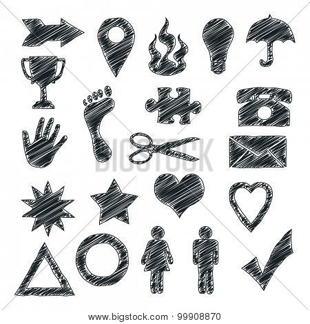 An image of some useful scribble signs