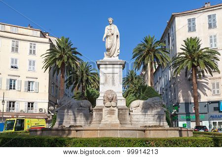 Statue Of Napoleon Bonaparte In Roman Garb