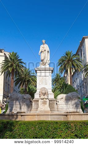 Statue Of Napoleon Bonaparte In Ajaccio