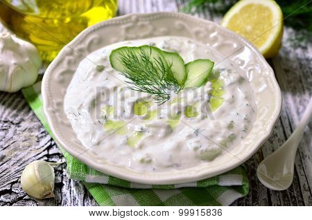 Tzatziki - Traditional Greek Sauce.