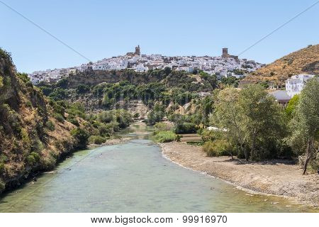 View Of Arcos De La Frontera From The River