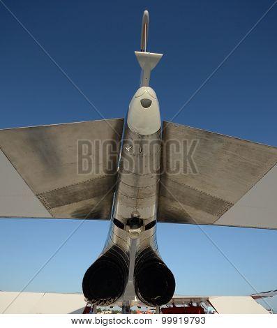 Jetfighter Rear View