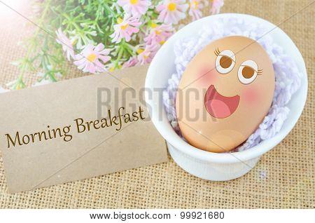 Morning Breakfast And Egg
