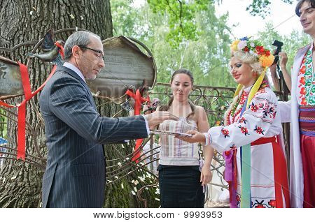 Gennady Kernes Acting Mayor Of Kharkov