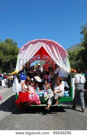 Spanish carnival procession, Marbella.