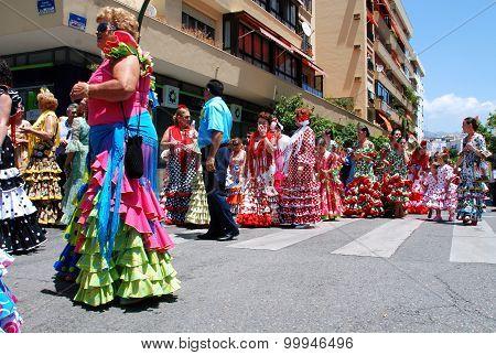 Street carnival, Marbella.