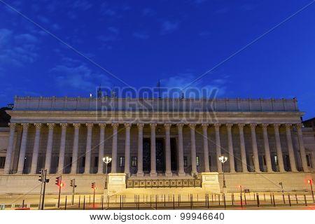 Palais De Justice Historique De Lyon, France
