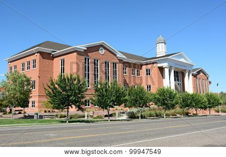 St. George, Utah, the Fifth Judicial District Courthouse.