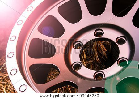 Close Up Alloy Wheels