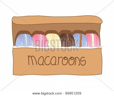 Boxed Macaroons