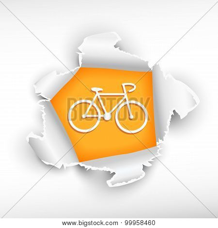 Cycling And Breakthrough Paper Hole
