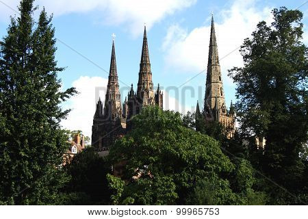 The Three Spires Lichfield