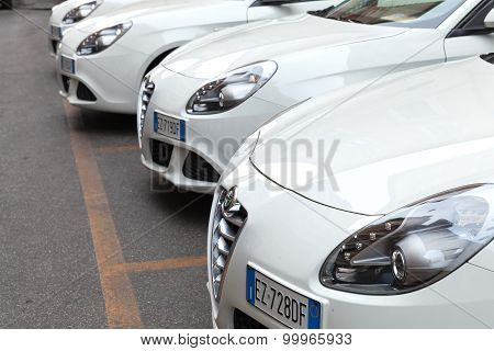 White Alfa Romeo Giulietta Type 940 Cars