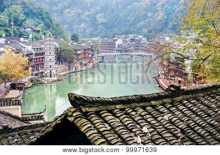 Fenghuang Ancient Town, Hunan Province, China