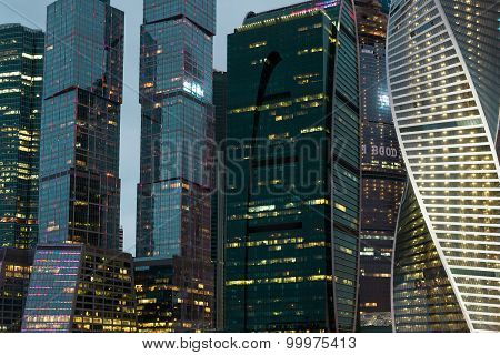 Mosca, Russia - 23.03.2015 The Moscow International Business Center, Moscow-city On September 17, 20