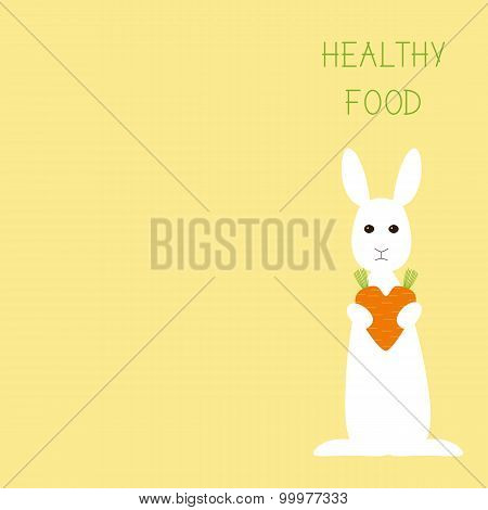Healthy Food Greeting Card