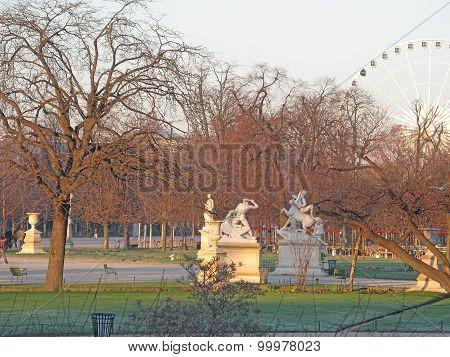 Paris Carousel in January