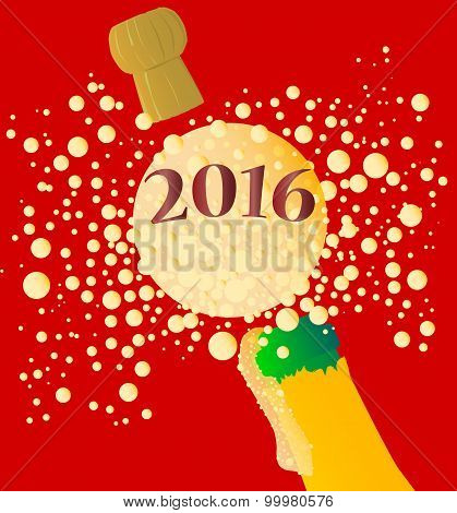 Bubbly New Year 2016