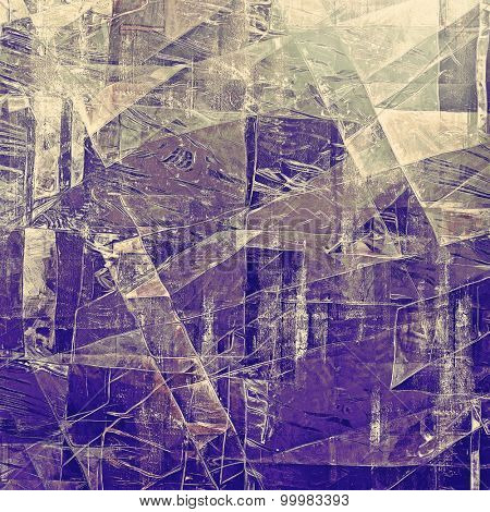 Old antique texture or background. With different color patterns: yellow (beige); brown; gray; purple (violet) yellow (beige); brown; gray; purple (violet)