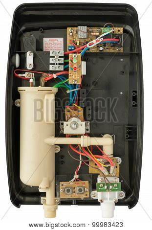 Inside Of Electric Water Heater