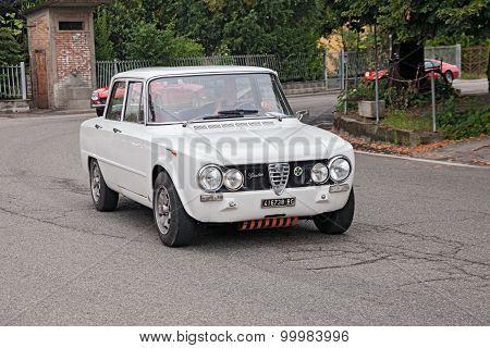 Vintage Italian Car Alfa Romeo Giulia