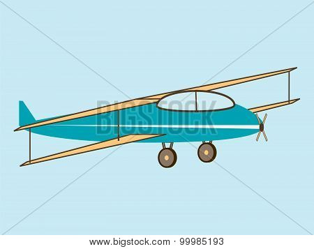 Sport aircraft four wings