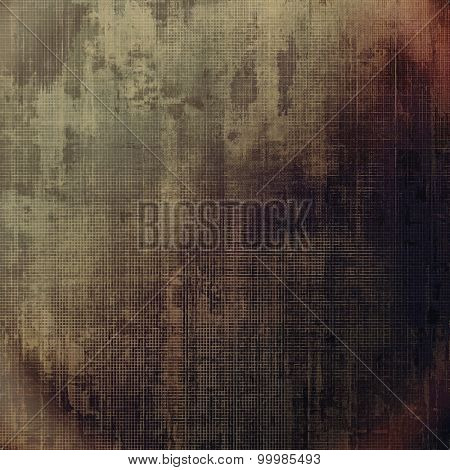 Abstract old background or faded grunge texture. With different color patterns: yellow (beige); brown; gray; black