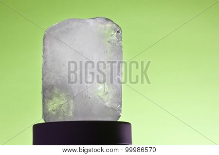 Ecologic Deodorant Crystal In Black-ground Green