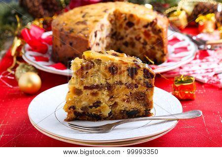 Brandied Fruit Cake