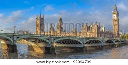Fisheye View Of Westminster Bridge