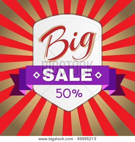 Big Sale Promotion Flyer.
