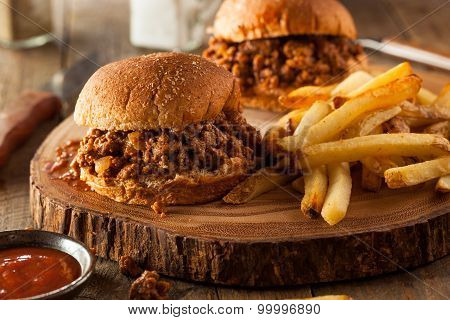 Homemade Bbq Sloppy Joe Sandwiches
