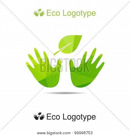 Vector Ecology Logo Or Icon, Nature Logotype