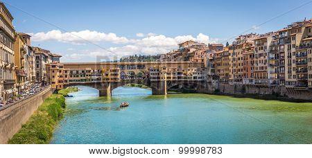Bridge Ponte Vecchio, Italy