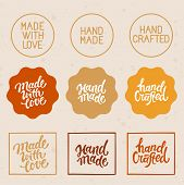 Vector Set Of Design Elements And Badges poster